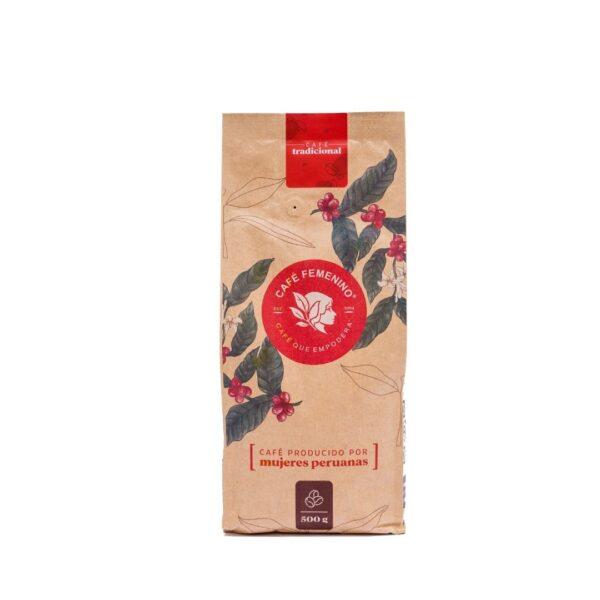café femenino tradicional perú proassa 500 gr