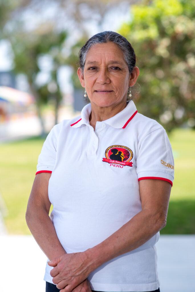 Sabina Hernández, Lideresa de la Comunidad de Agua Azul