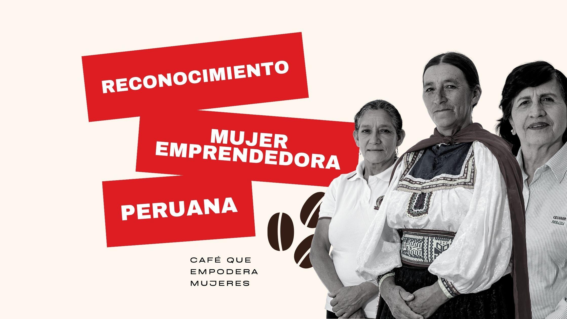 mujer emprendedora peruana